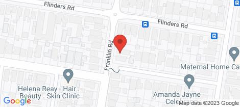 Location map for 5/46 Franklin Road Cronulla