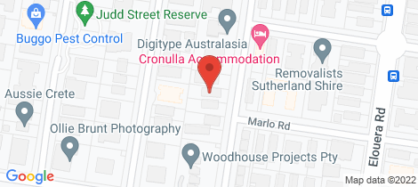 Location map for 1/49 Wyanbah Road Cronulla