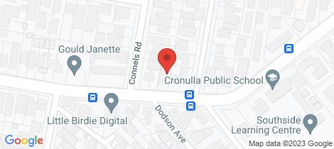 Location map for 2/35 Burraneer Bay Road Cronulla