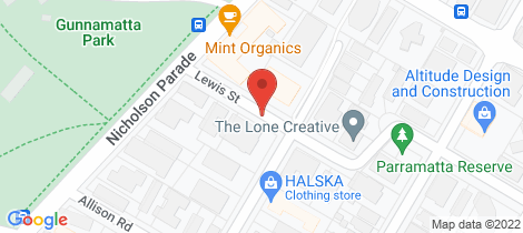 Location map for 1/12 Lewis Street Cronulla