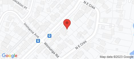 Location map for 46 Lilli Pilli Point Road Lilli Pilli