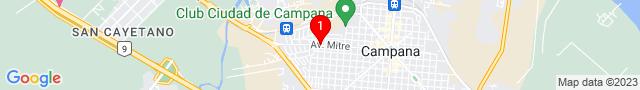 Av Mitre 1342 - CAMPANA, Buenos Aires