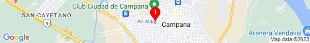 Av Mitre 1131 - CAMPANA, Buenos Aires