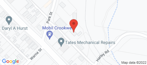 Location map for 5 Robertson Lane Crookwell
