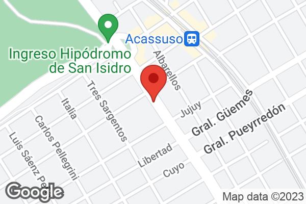 Av. Santa Fe 1027 , Acassuso, BA