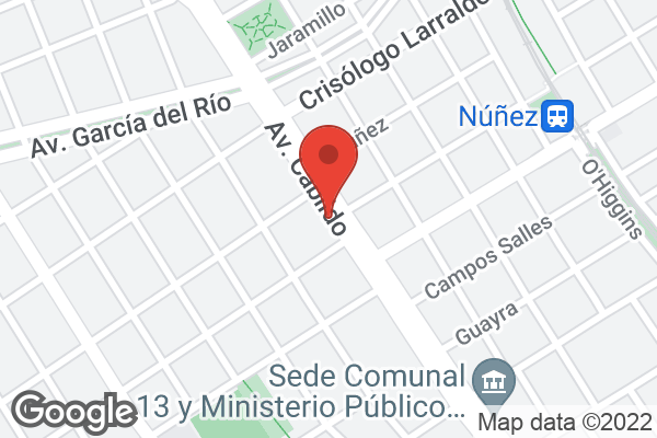 Av. Cabildo 3530 , Nuñez, CABA, CF