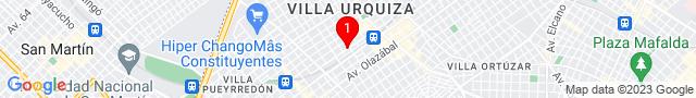 Franklin D Roosevelt 5530 - CAPITAL FEDERAL, Capital Federal