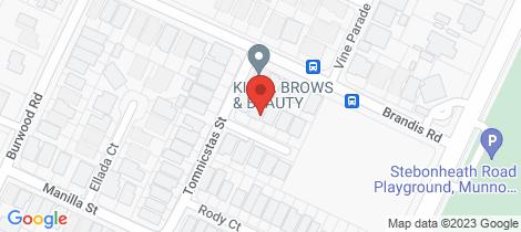 Location map for 3 Angheljo Avenue Munno Para West