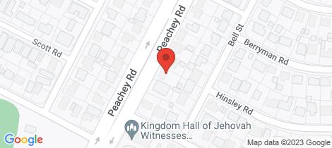Location map for 210 Peachey Road Smithfield Plains