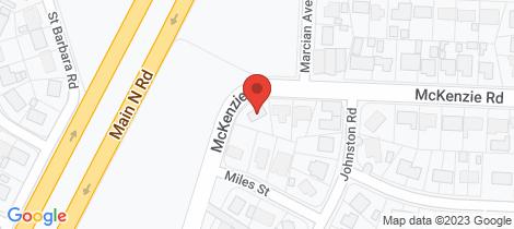 Location map for 42 McKenzie Road Elizabeth Downs