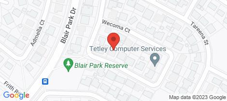 Location map for 13 Wecoma Court Craigmore