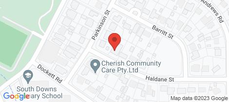 Location map for 3B Haldane Street Elizabeth Downs