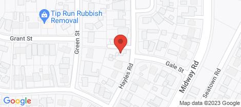 Location map for 20 Hayles Road Elizabeth Park