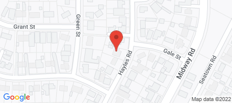 Location map for 22 Hayles Road Elizabeth Park