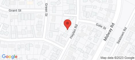 Location map for 24 HAYLES Road Elizabeth Park