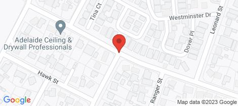 Location map for 13D BUTLER Street Elizabeth Park