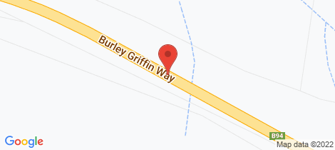 Location map for 72 Burley Griffin Way Bowning