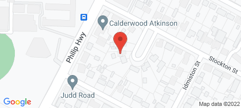 Location map for 12 Stockton Street Elizabeth