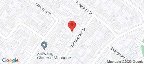 Location map for 11 Chamberlain Street Salisbury North