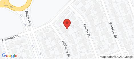 Location map for 3 Hibiscus Street Elizabeth Vale