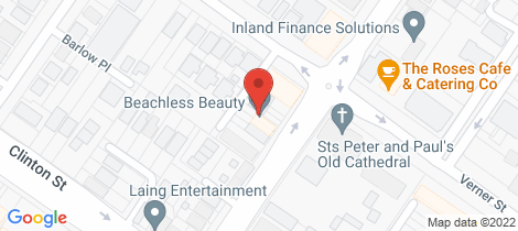 Location map for 146 Bourke Street Goulburn