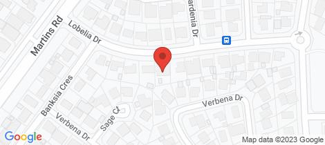 Location map for 11 Lobelia Drive Parafield Gardens