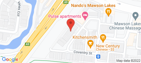 Location map for 21A COVENTRY Street Mawson Lakes