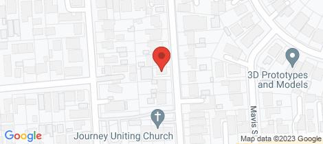 Location map for 8 Shepherd Street Ridgehaven