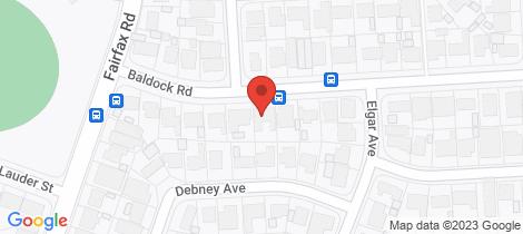 Location map for 13 Baldock Road Ingle Farm