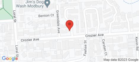 Location map for 3/14 Crozier Avenue Modbury