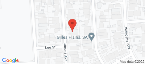 Location map for 22 Carona Avenue Gilles Plains