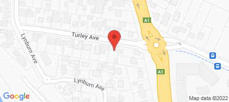 Location map for 2 Turley Avenue Bomaderry