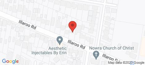 Location map for 129 Illaroo Road North Nowra