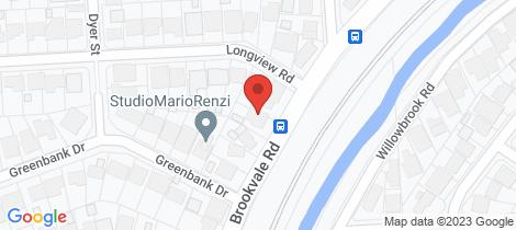 Location map for 41 BROOKVALE Road Windsor Gardens