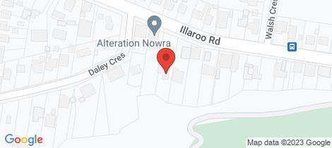 Location map for 58 Illaroo Road North Nowra