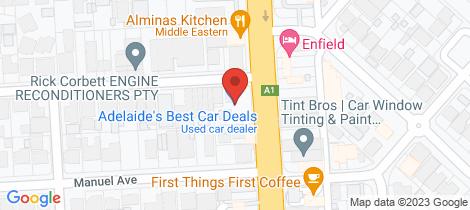 Location map for 388-390 Main north Road Blair Athol