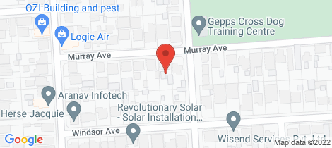 Location map for 21 Murray Avenue Clearview