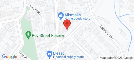Location map for 36 Bradbrook Road Street Athelstone