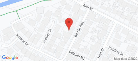 Location map for 7 Burnie Avenue Campbelltown
