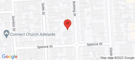 Location map for Lot 1,2,&3/34 Botting Street Albert Park