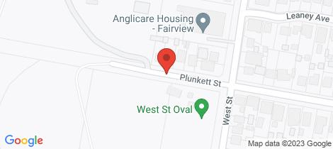 Location map for 5-7 Plunkett Street Nowra