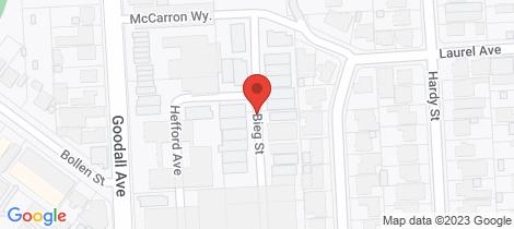 Location map for 32 Bieg Street Croydon Park