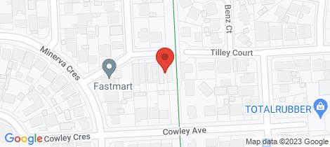 Location map for 7 ROVER Avenue Croydon Park