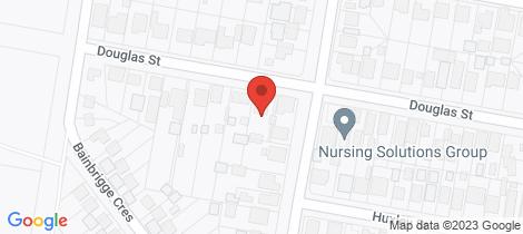 Location map for 30 Douglas Street Nowra