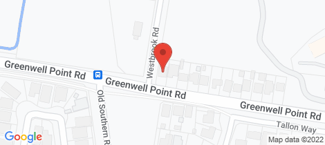 Location map for 95 Greenwell Point Road Worrigee