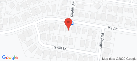Location map for 98 Isa Road Worrigee