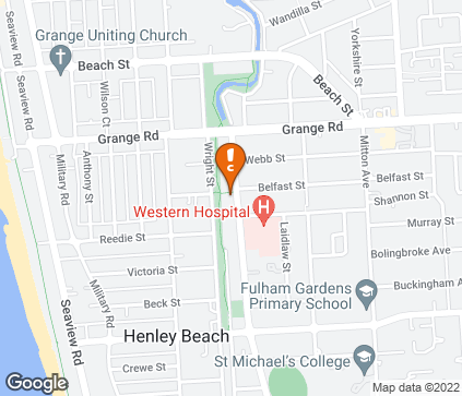 Map of Western Specialist Centre in Henley Beach