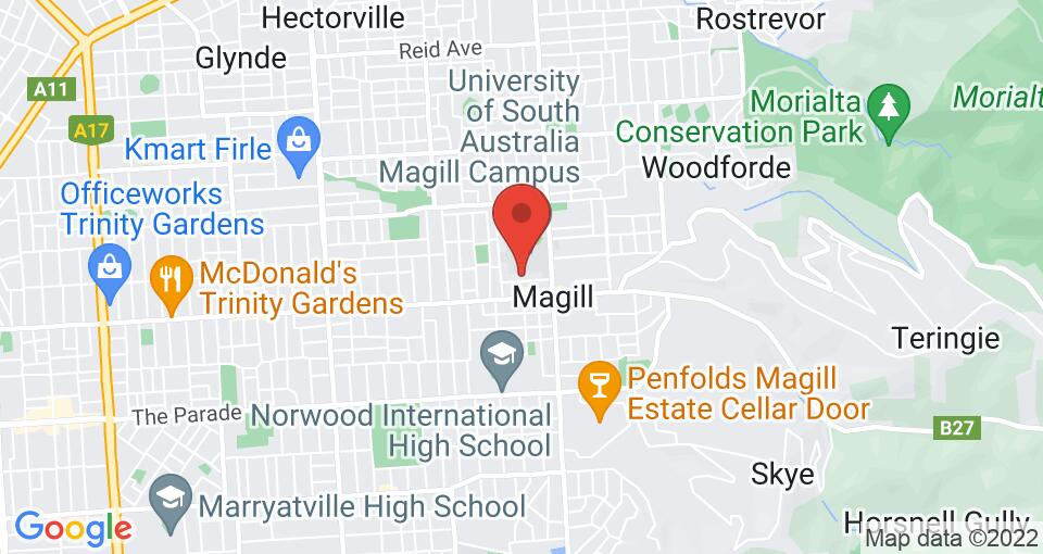 Google Map of Student Living - Magill Campus