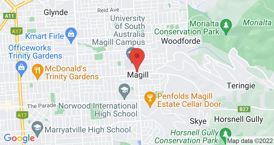 Google Map of Student Living - Magill Hartley