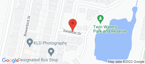 Location map for 7 Swallow Drive South Nowra
